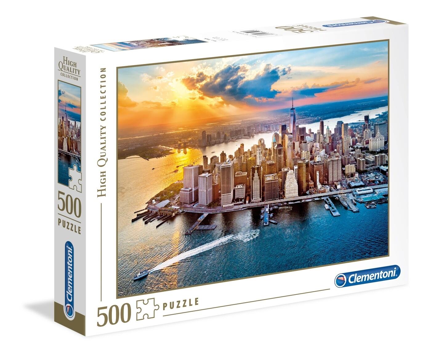 PUZZLE 500 HQ New York - CLEMENTONI