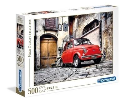 PUZZLE 500 HQ Fiat 500 - CLEMENTONI