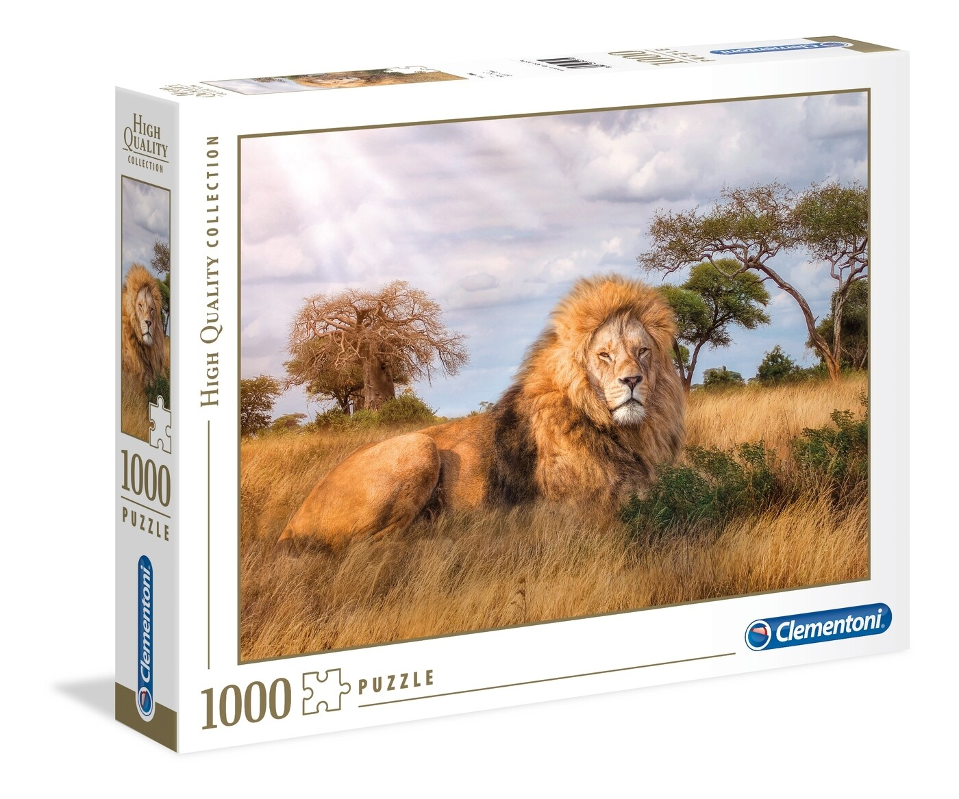 PUZZLE 1000 HQ The King - CLEMENTONI
