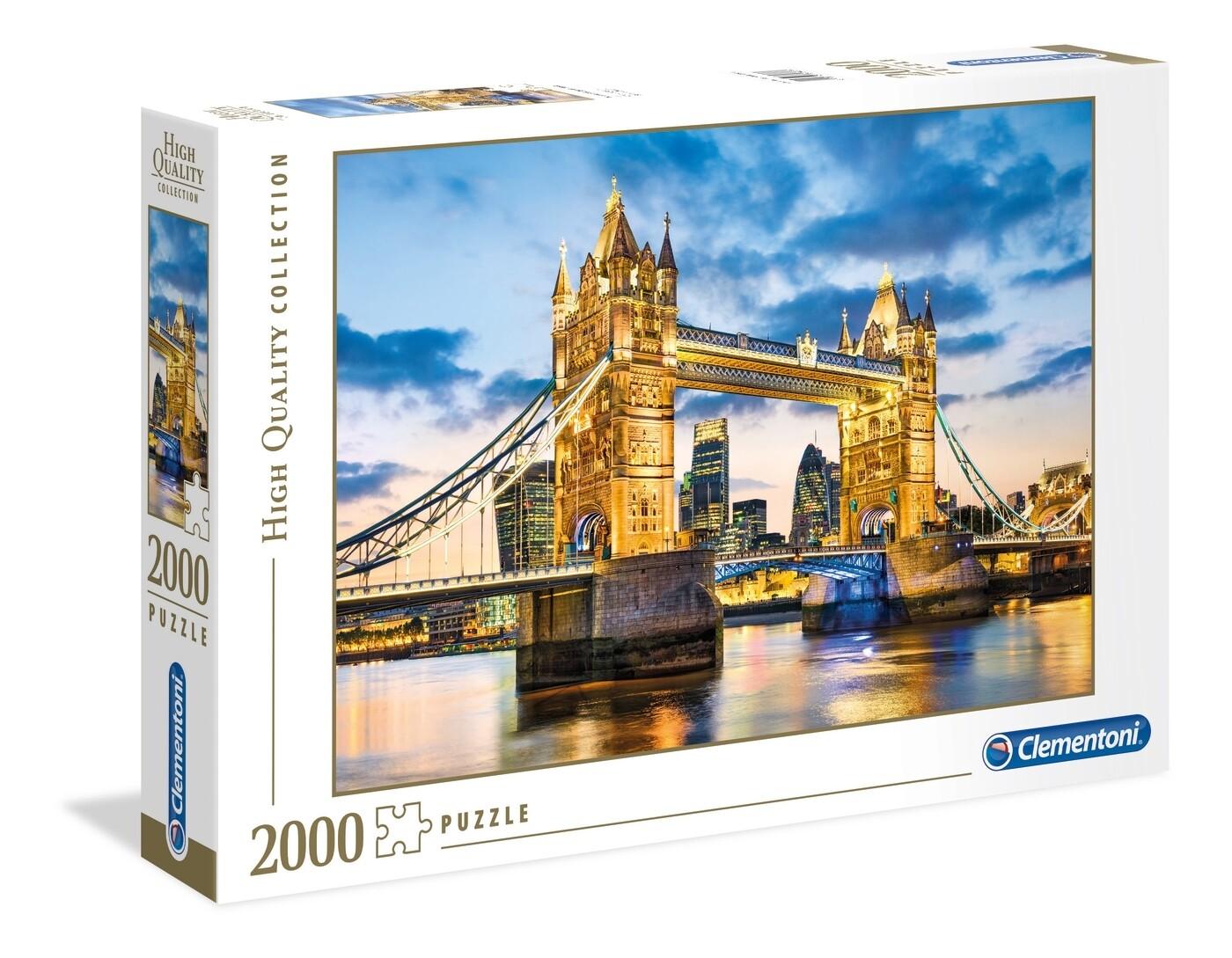 PUZZLE 2000 HQ Tower Bridge at Dusk - CLEMENTONI