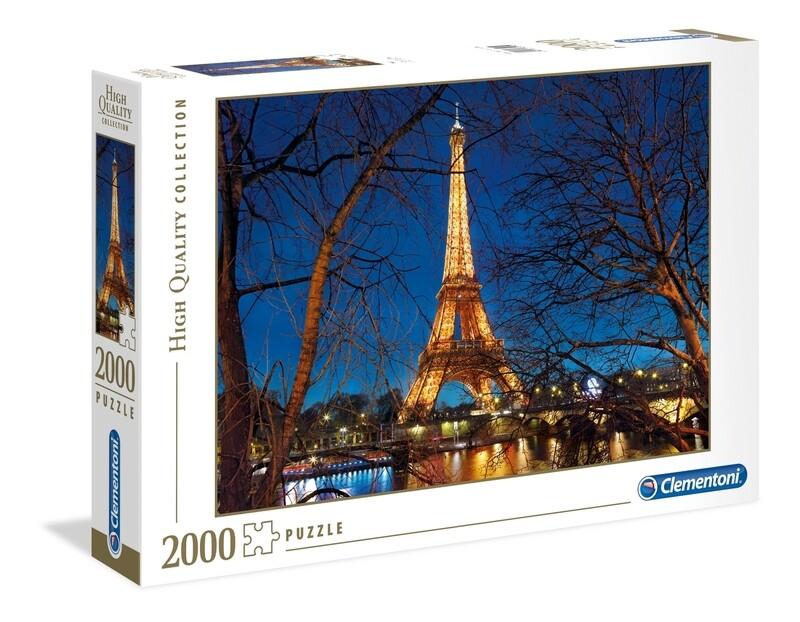 PUZZLE 2000 HQ Paris - CLEMENTONI