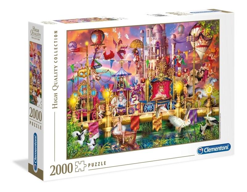 PUZZLE 2000 HQ Circus - CLEMENTONI