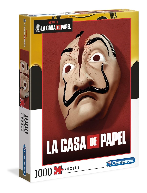 PUZZLE 1000 pcs La Casa de Papel - CLEMENTONI