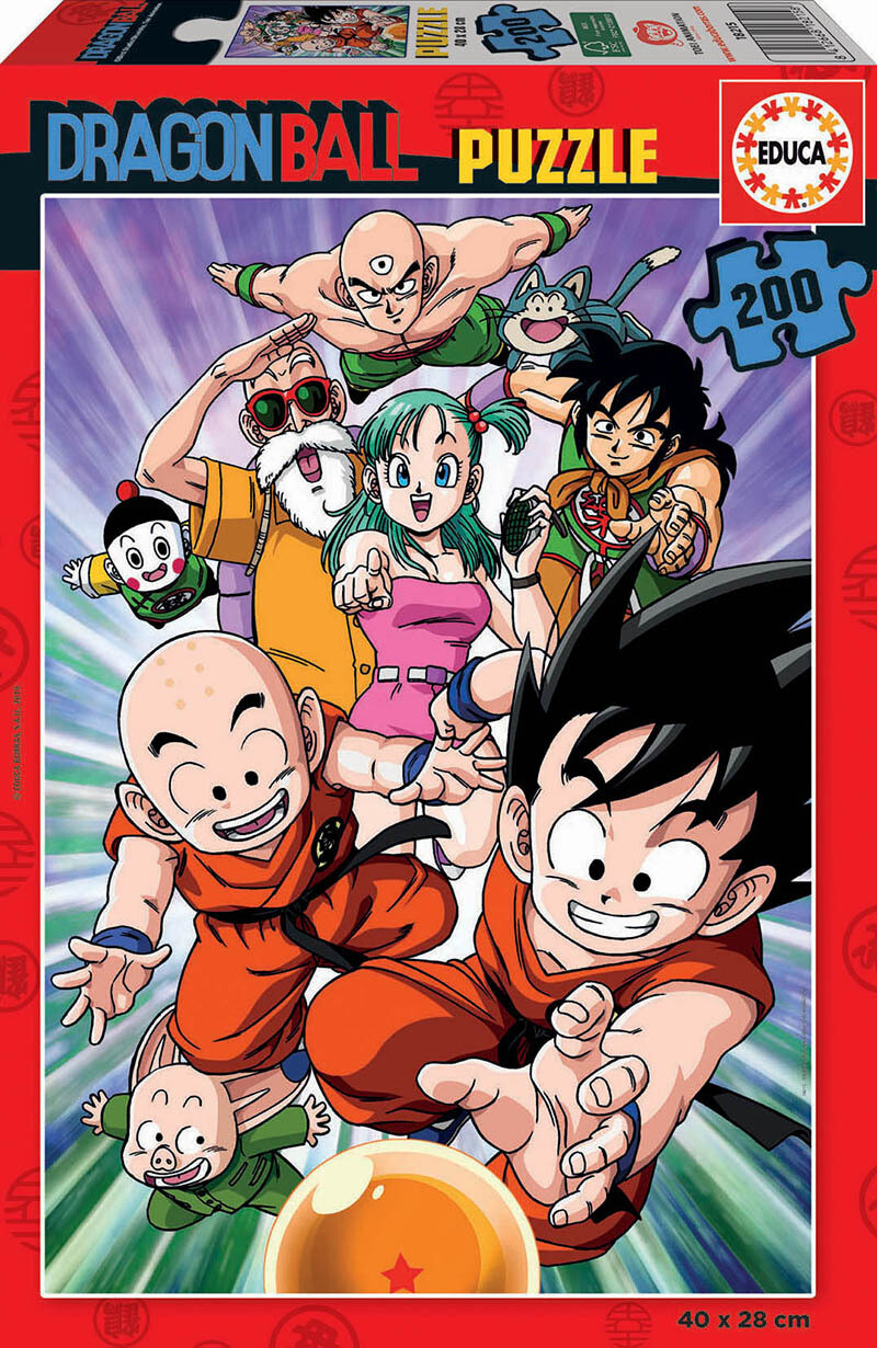 PUZZLE 200 pcs Dragon Ball - EDUCA