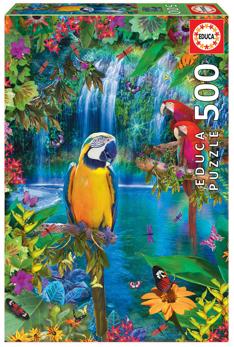 PUZZLE 500pcs Paraíso Tropical - EDUCA