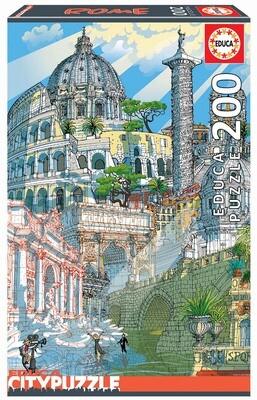 PUZZLE 200 pcs Roma - EDUCA