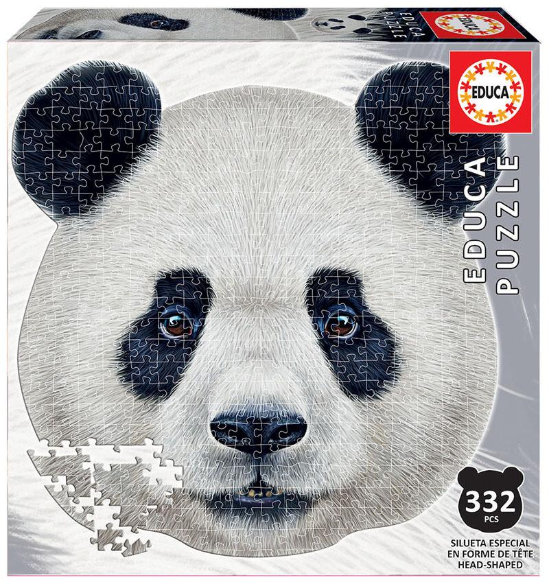 PUZZLE Silhueta 353pcs PANDA - EDUCA
