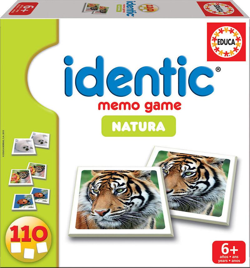MEMÓRIA 110Cartas - IDENTIC NATURA - EDUCA