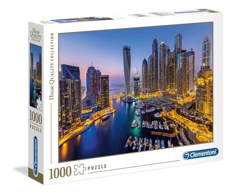 PUZZLE 1000 HQ Dubai - CLEMENTONI