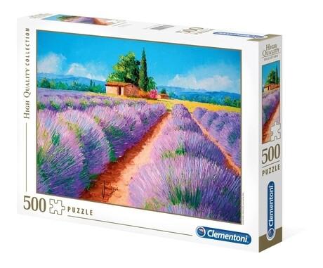 PUZZLE 500 HQ Lavender Scent - CLEMENTONI