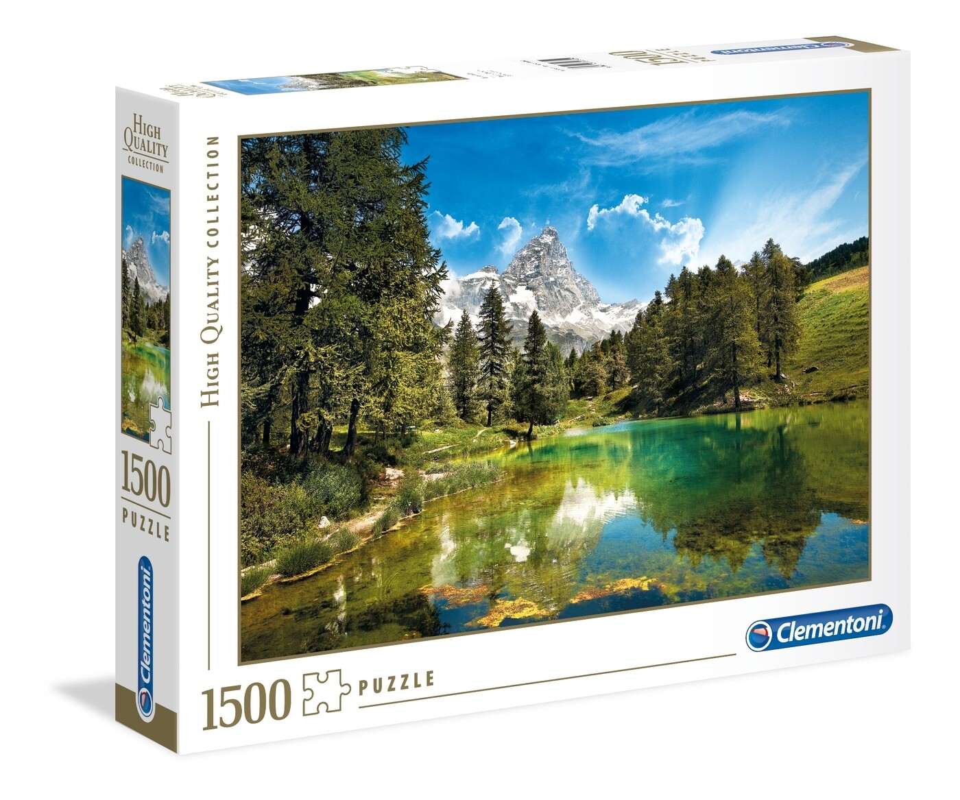 PUZZLE 1500 HQ Blue Lake - CLEMENTONI