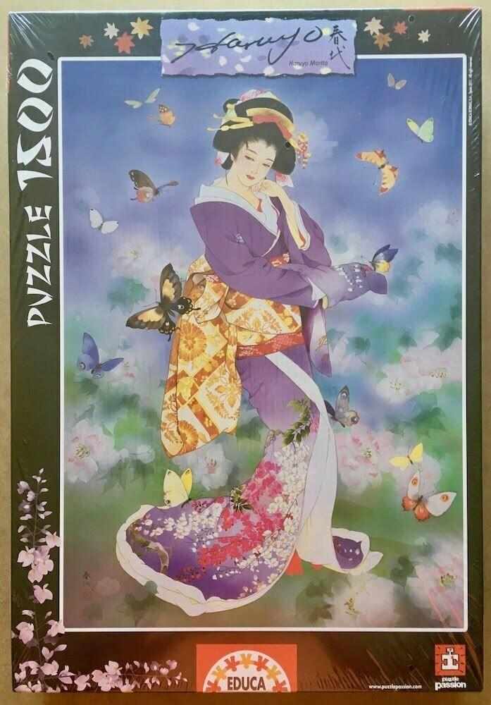 PUZZLE 1500 pcs - Chou No Mai, Haruyo Morita - EDUCA