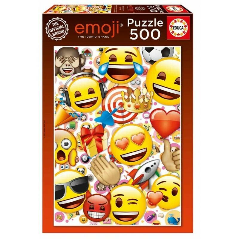 PUZZLE 500 pcs Emoji - EDUCA