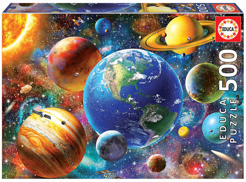 PUZZLE 500 pcs Sistema Solar - EDUCA