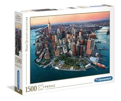 PUZZLE 1500 HQ New York - CLEMENTONI