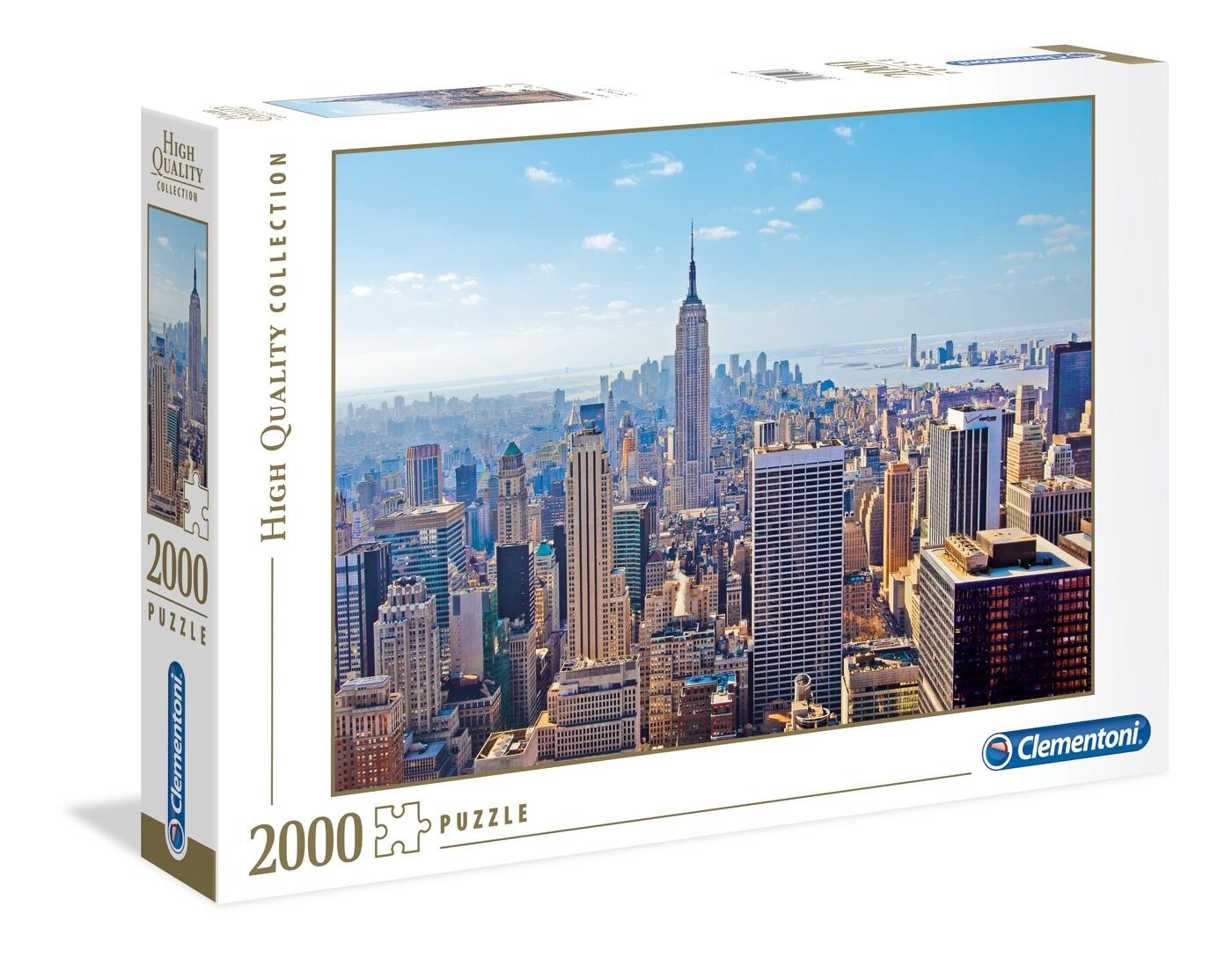 PUZZLE 2000 HQ New York - CLEMENTONI