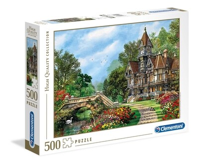 PUZZLE 500 HQ Old Waterway Cottage - CLEMENTONI