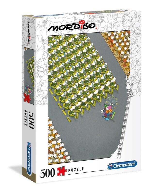 PUZZLE 500 Mordillo - The March - CLEMENTONI
