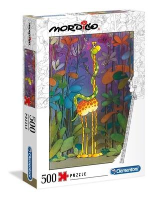PUZZLE 500 Mordillo - The Lover - CLEMENTONI