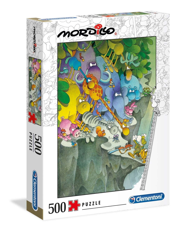 PUZZLE 500 Mordillo - The Surrender - CLEMENTONI