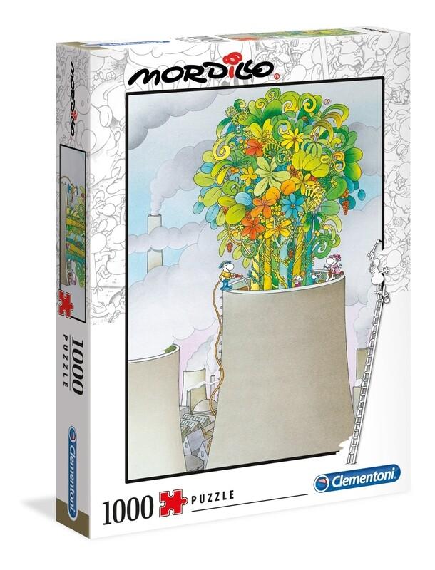 PUZZLE 1000 Mordillo - The Cure - CLEMENTONI