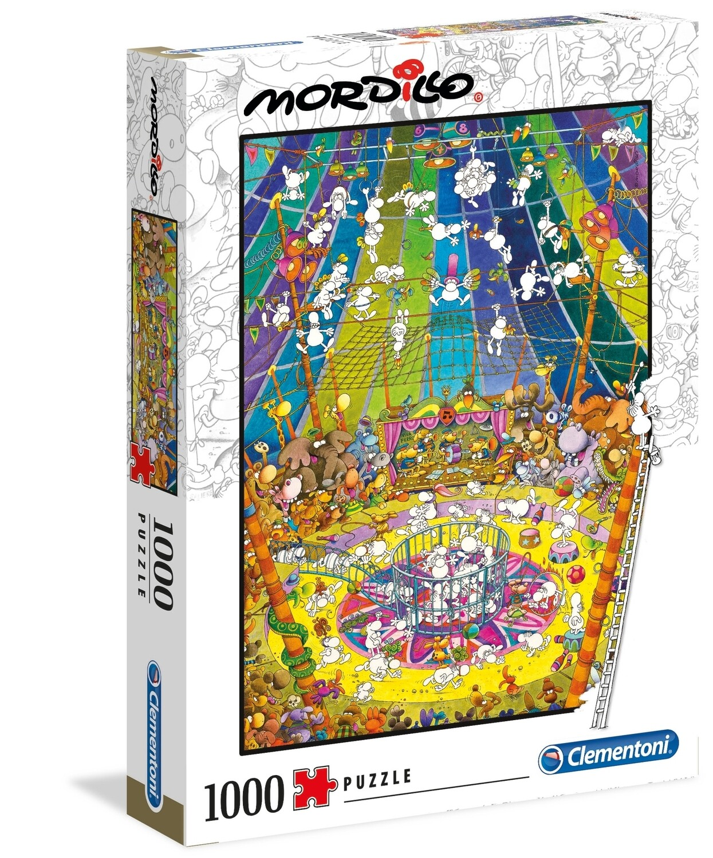 PUZZLE 1000 Mordillo - The Show - CLEMENTONI