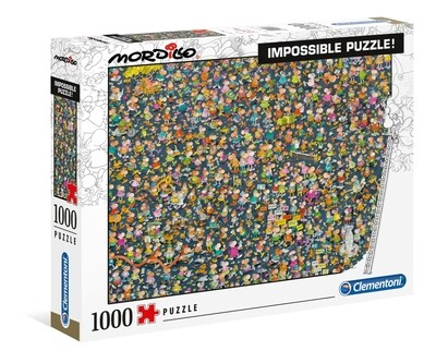 PUZZLE 1000 Mordillo - Impossible - CLEMENTONI
