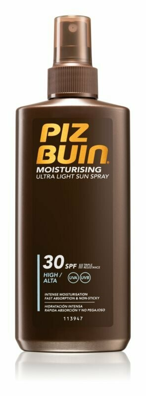 Spray Protector Solar - SPF 30 - PIZ BUIN