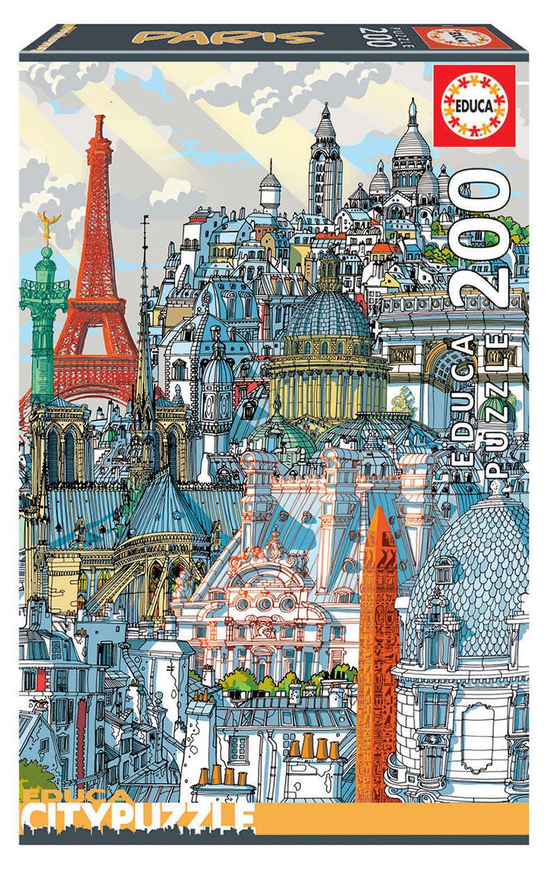 PUZZLE 200pcs Paris - EDUCA