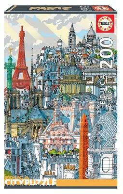PUZZLE 200 pcs Paris - EDUCA