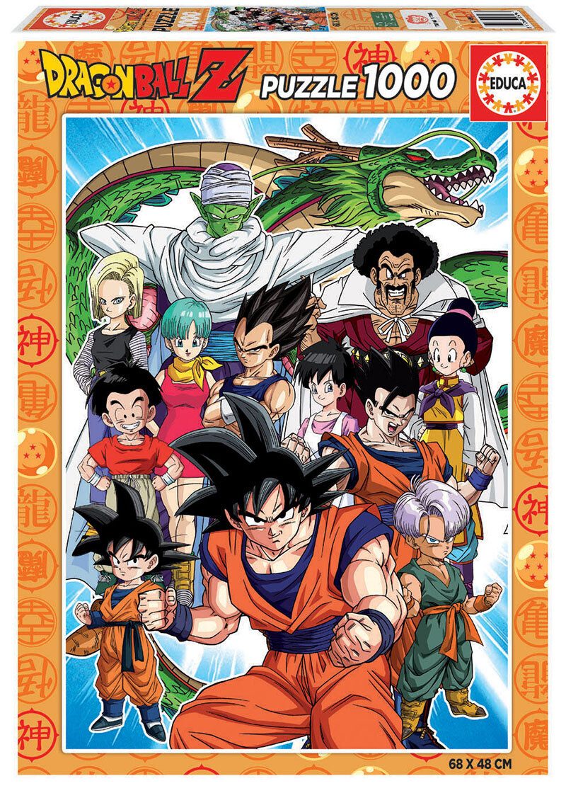 PUZZLE 1000pcs Dragon Ball Z - EDUCA