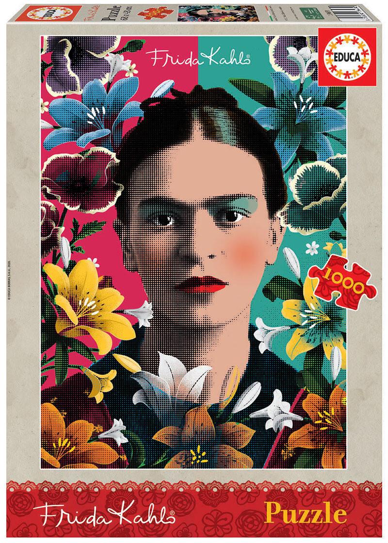 PUZZLE 1000pcs Frida Kahlo - EDUCA
