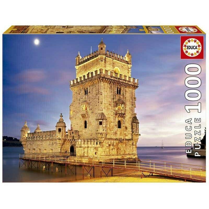 PUZZLE 1000 pcs Torre de Belém - EDUCA