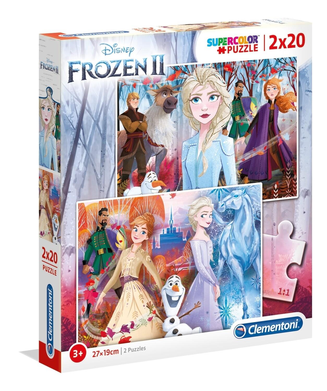 PUZZLE Frozen II - 2x20 pcs - CLEMENTONI