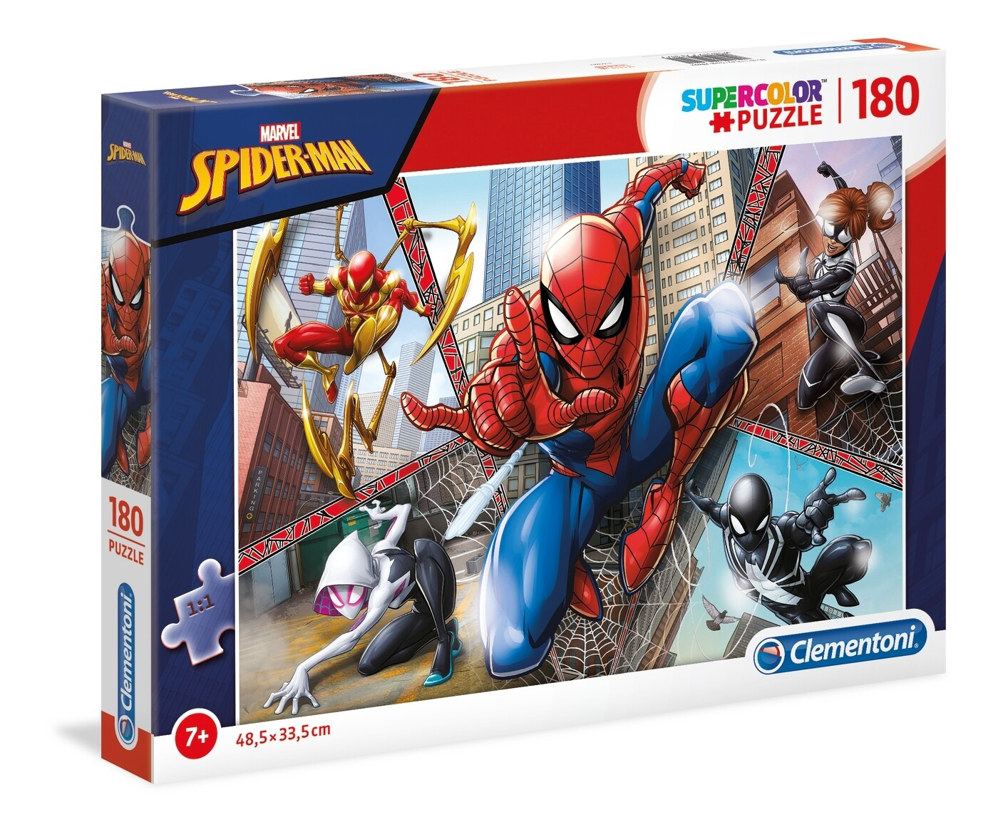 PUZZLE Super 180pcs Spiderman - CLEMENTONI