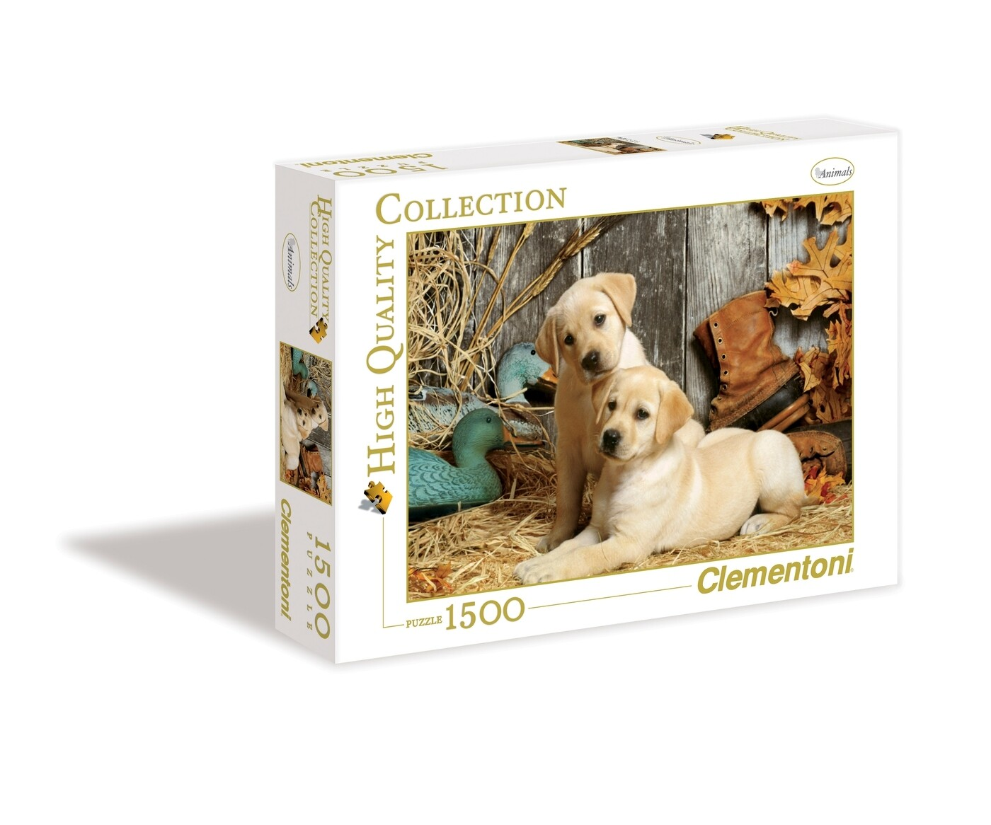 PUZZLE 1500 HQ Cães de Caça - CLEMENTONI