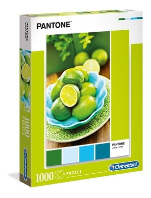 PUZZLE 1000 pcs Coleção Pantone 1 - GREEN LIME - CLEMENTONI
