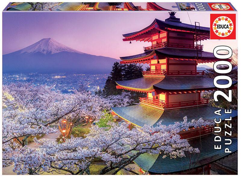 PUZZLE 2000pcs - Monte Fuji, Japão - EDUCA
