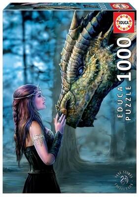 PUZZLE 1000 pcs Era Uma Vez - Dragão - EDUCA
