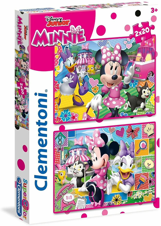 PUZZLE Minnie 2x20 pcs - CLEMENTONI