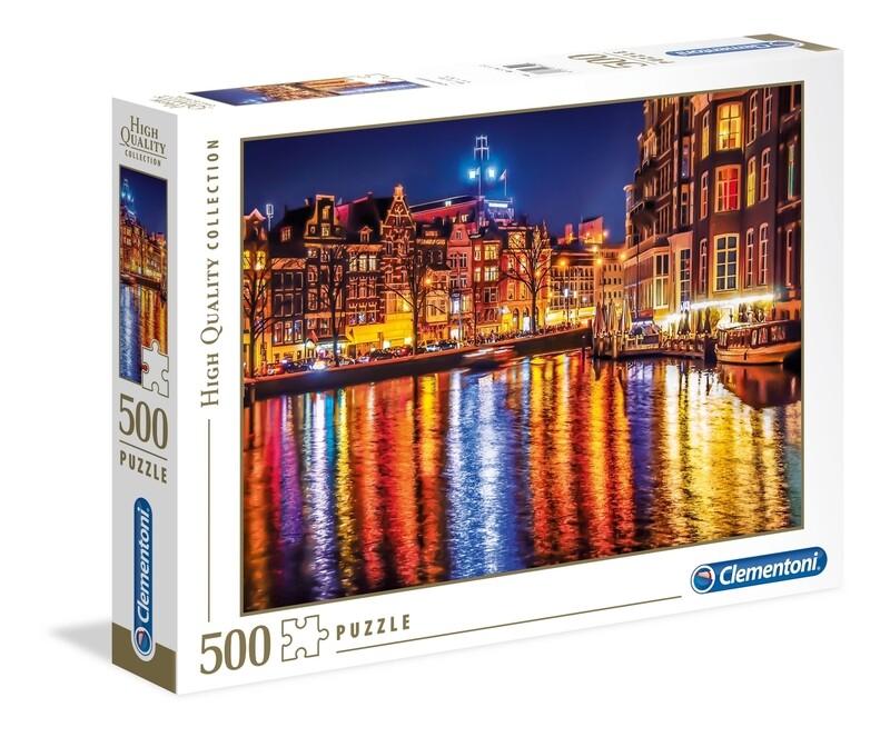 PUZZLE 500 HQ Amesterdão - CLEMENTONI