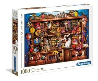 PUZZLE 1000 HQ Ye Old Shop - CLEMENTONI