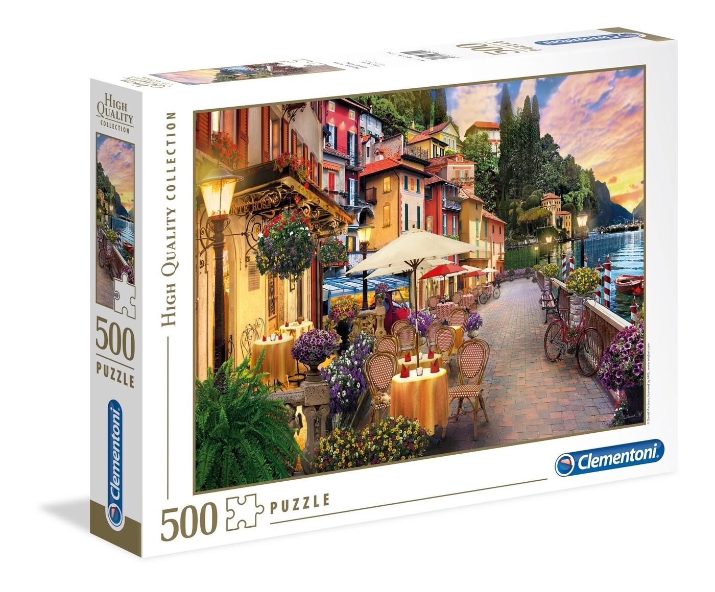 PUZZLE 500 HQ Monte Rosa Dreaming - CLEMENTONI