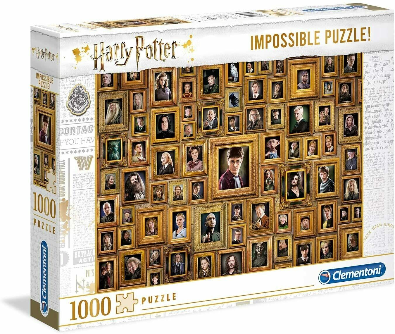 PUZZLE 1000 Harry Potter - Impossible - CLEMENTONI