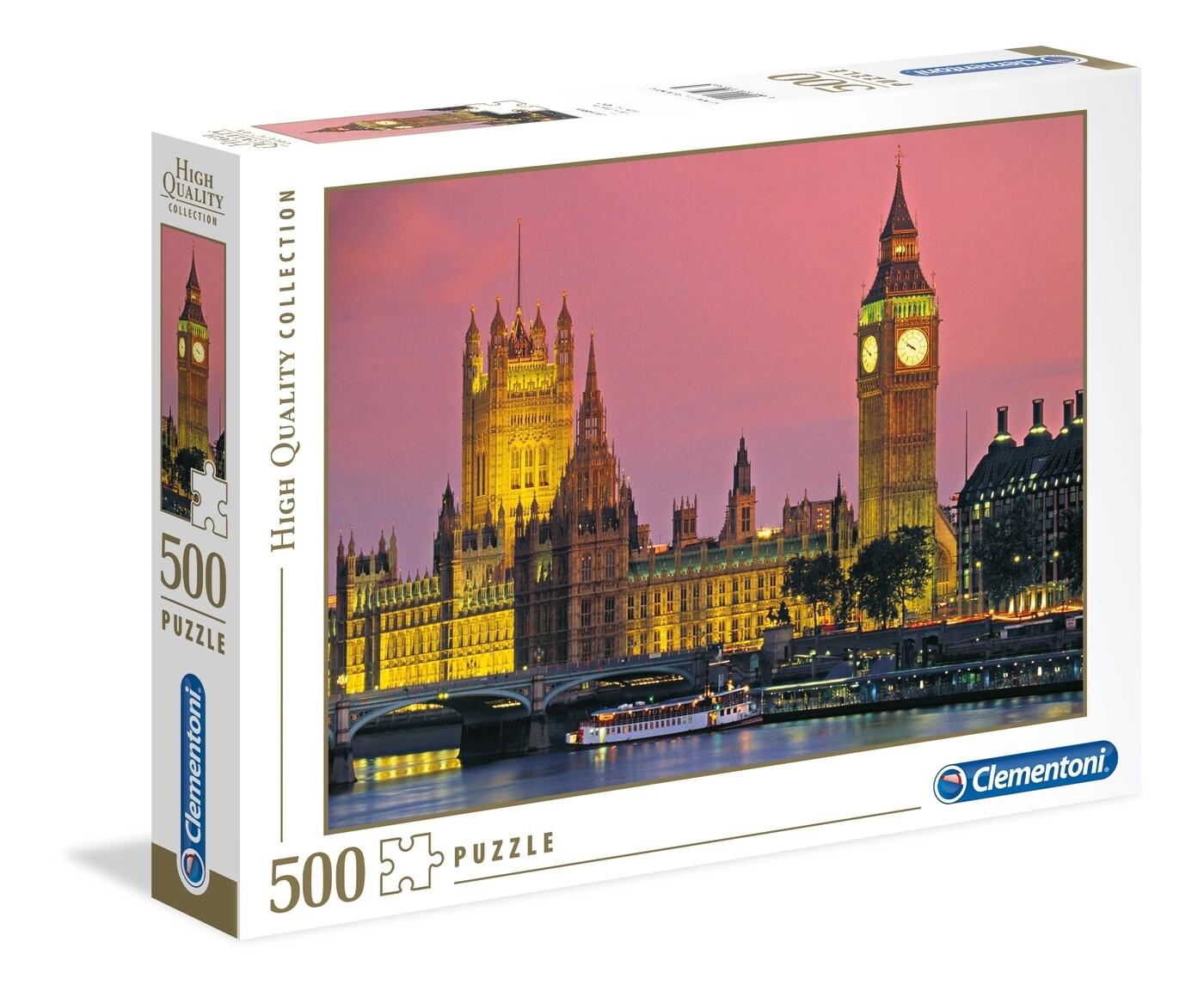 PUZZLE 500 HQ  Londres - CLEMENTONI