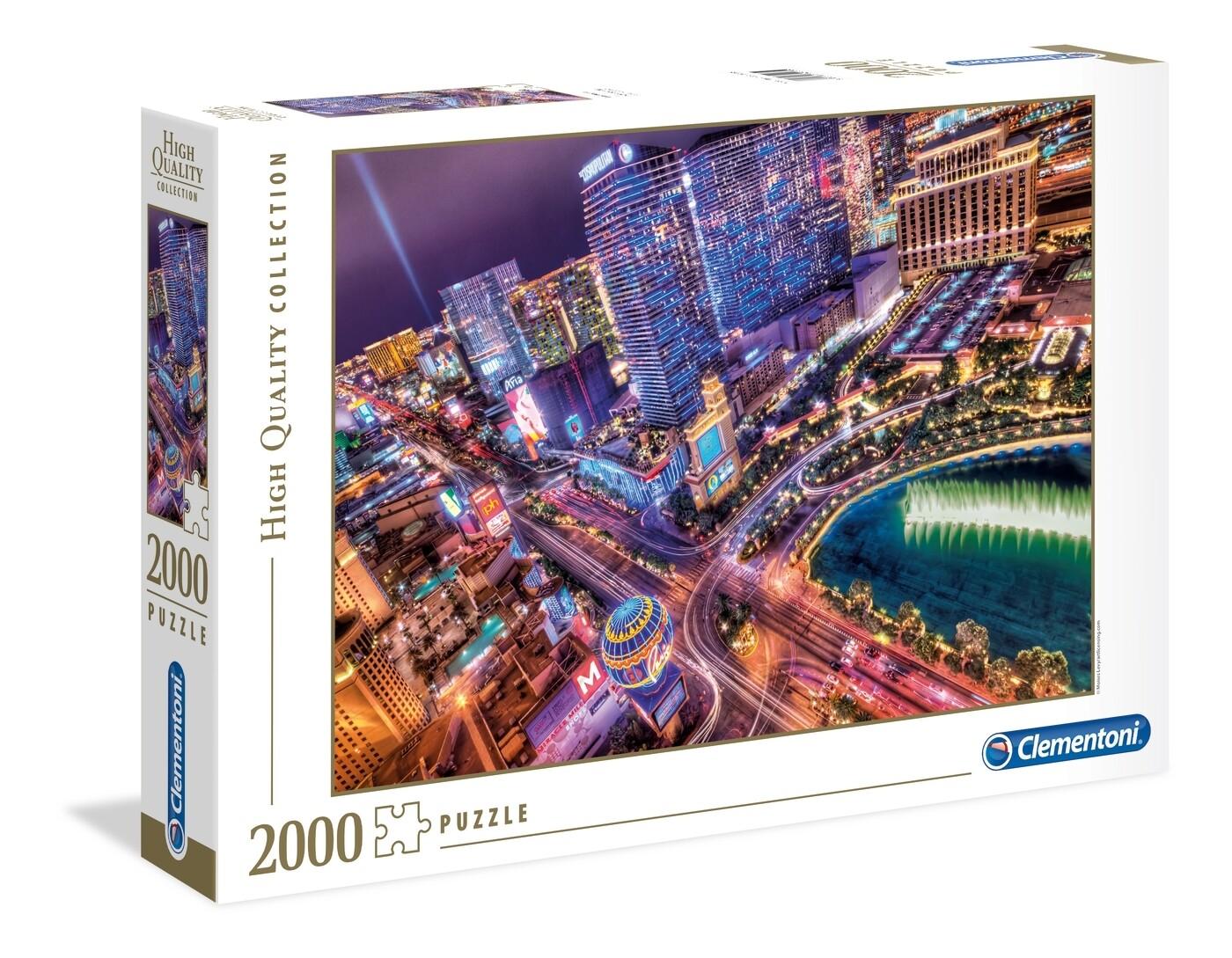 PUZZLE 2000 HQ Las Vegas - CLEMENTONI