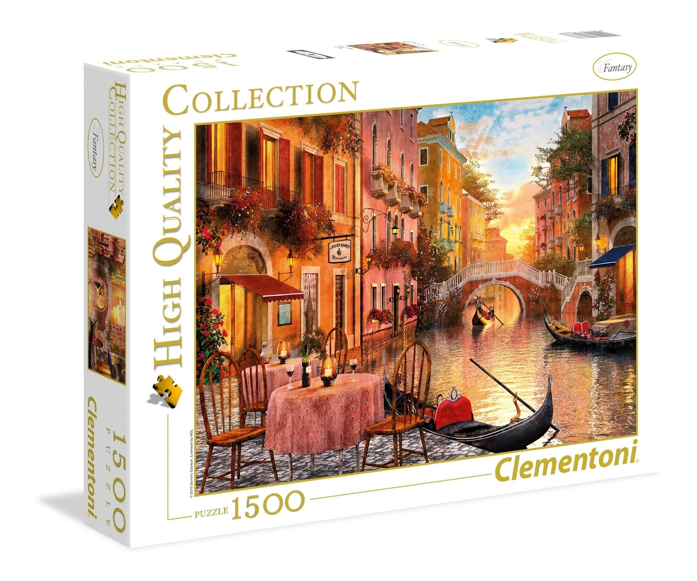 PUZZLE 1500 HQ Veneza - CLEMENTONI