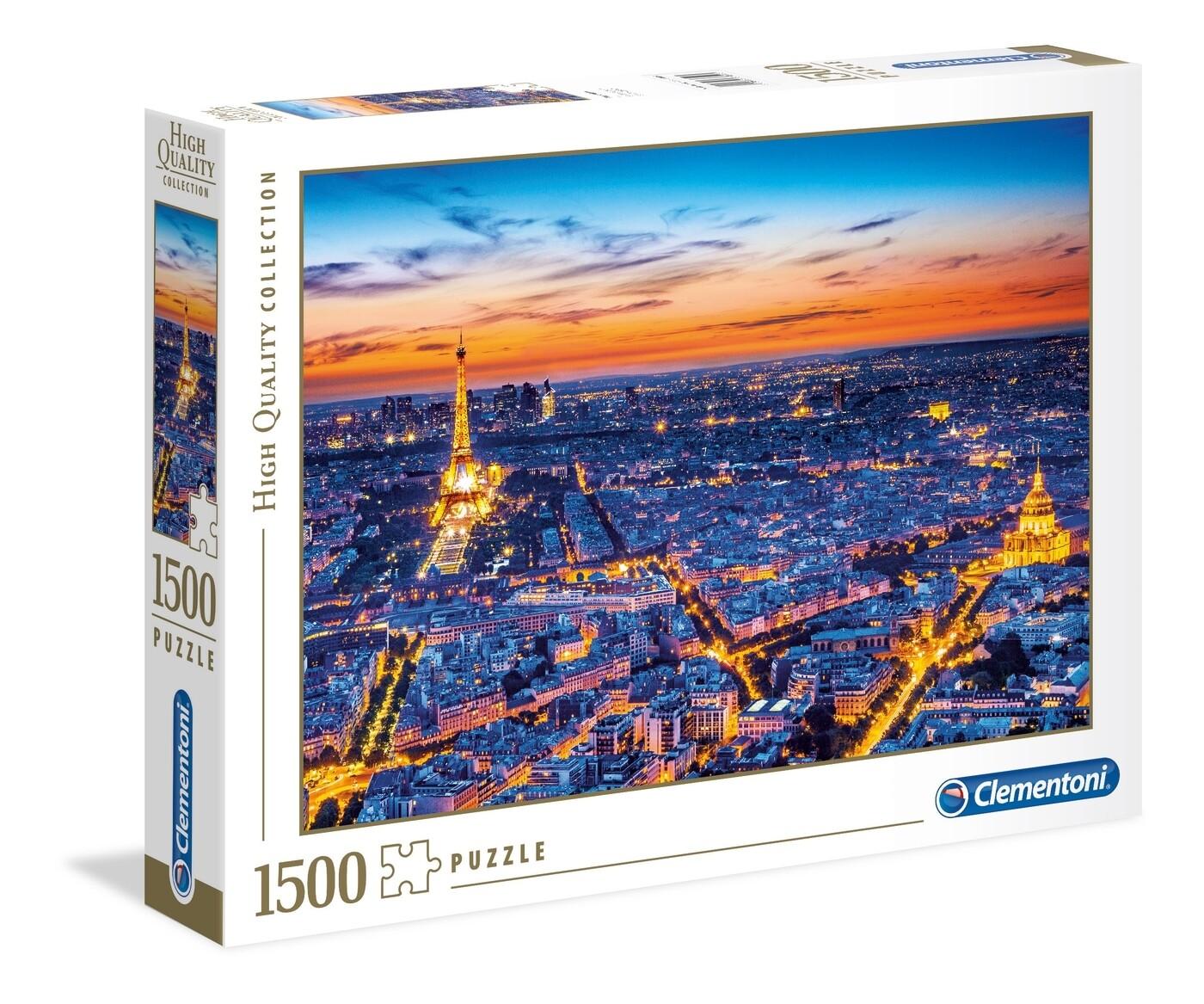 PUZZLE 1500 HQ Paris View - CLEMENTONI