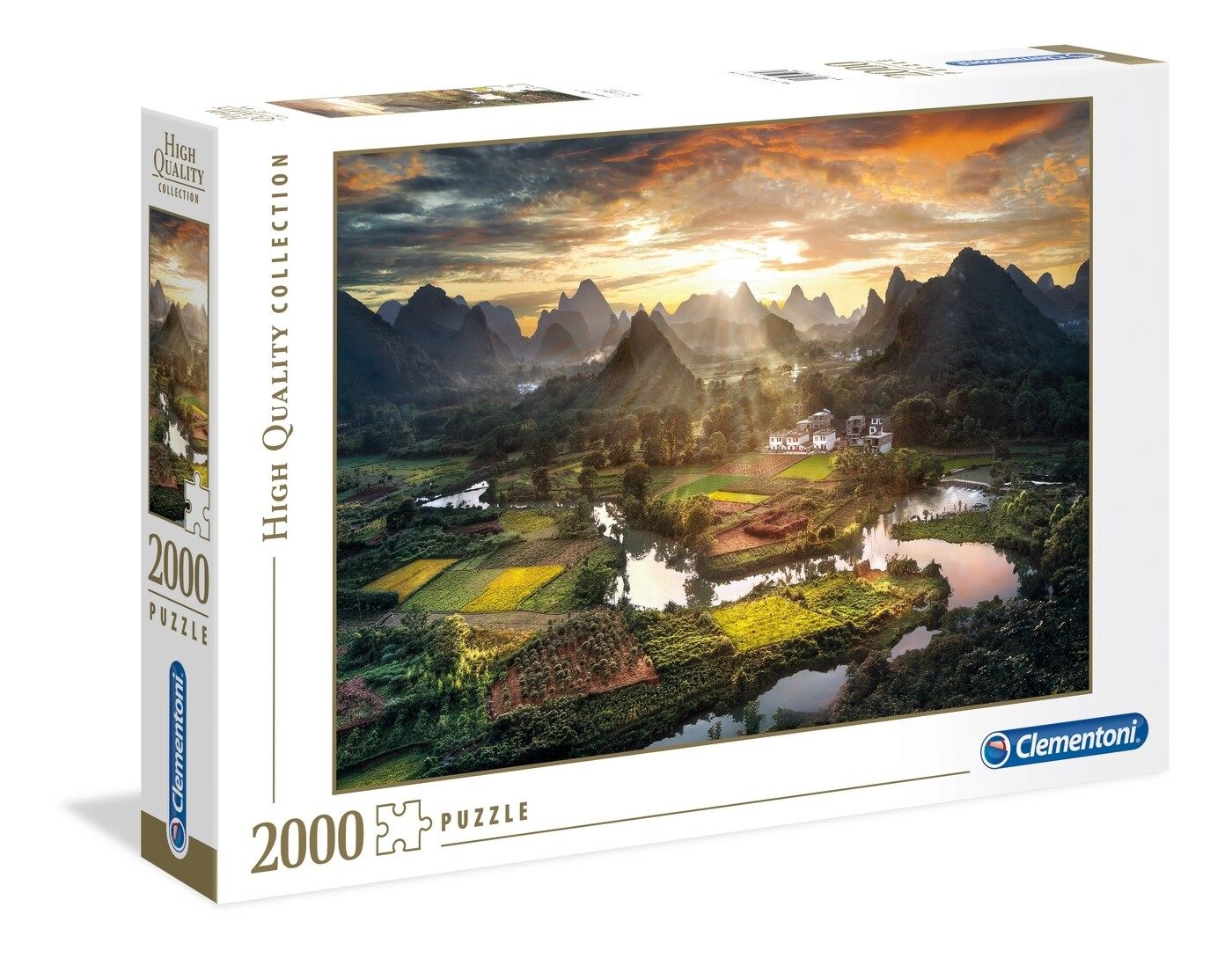 PUZZLE 2000 HQ Views of China - CLEMENTONI