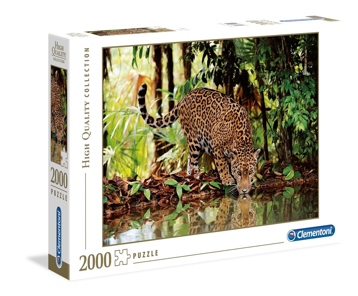 PUZZLE 2000 HQ Leopardo - CLEMENTONI